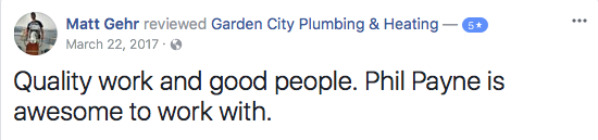 10 Missoula Montana Plumbing Review on Facebook