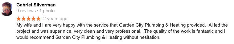 18 Missoula Montana Plumbing Google Review