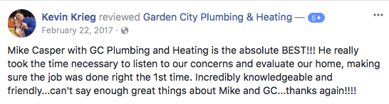 4 Missoula Montana Plumbing Review on Facebook
